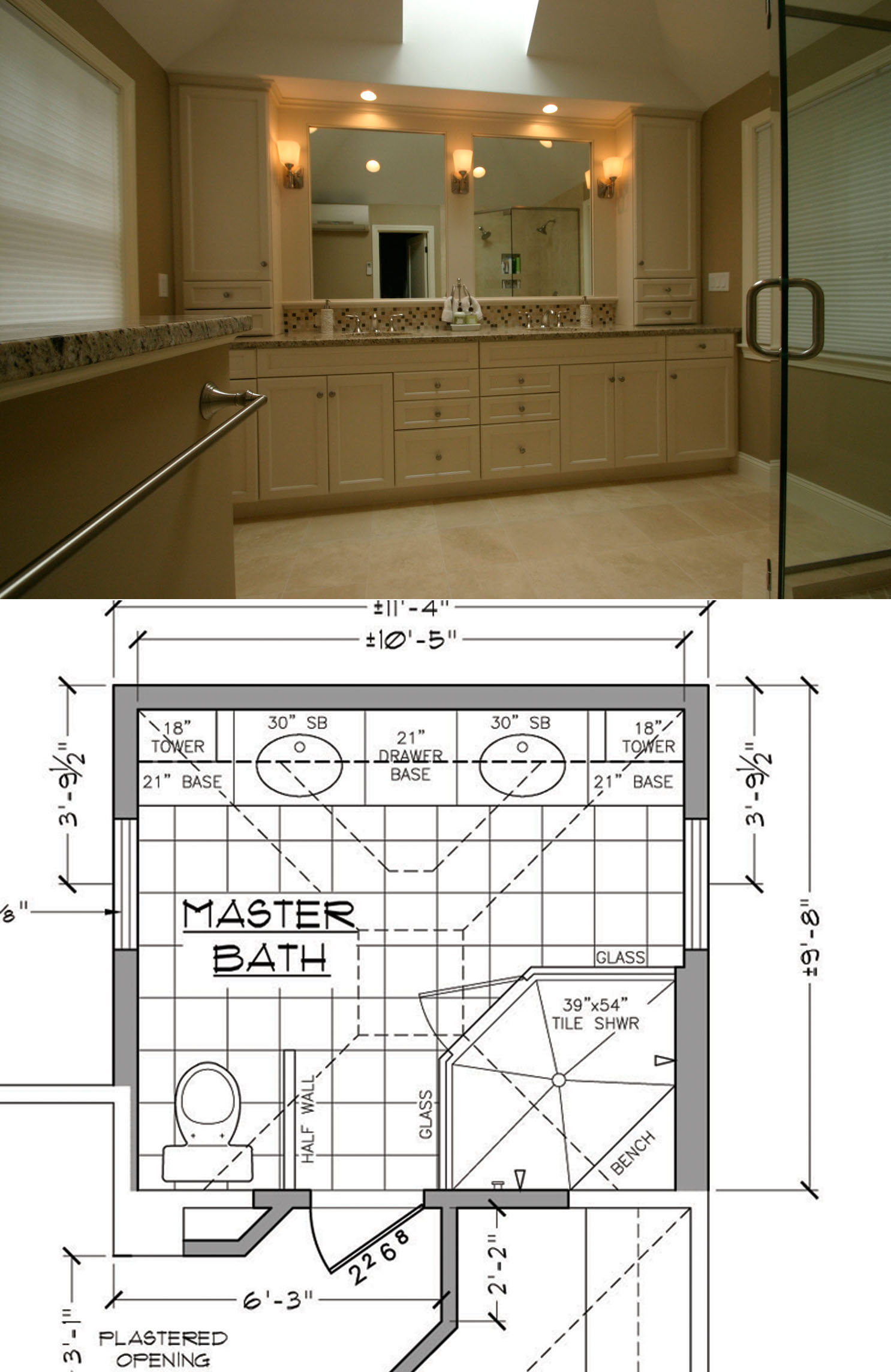 Four master bathroom remodeling tips mgz for Bathroom floor plans